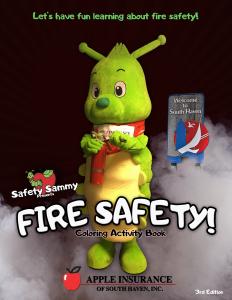 Safety Sammy Fire Safety 3